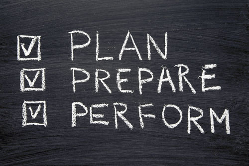 Plan, Prepare, Perform